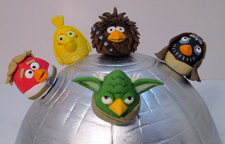 ZVEZDNUE VOYNU ZLUH PTIC Angry Birds Star Wars 2
